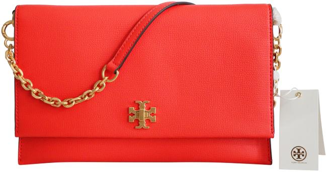 Item - Clutch Kira Convertible Orange Leather Shoulder Bag