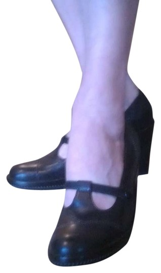 VS Cool Comfortable Unique Vintage 90's Black Pumps