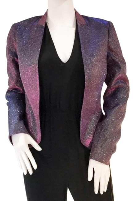 Item - Purple Iridescent Essential Blazer Size 4 (S)