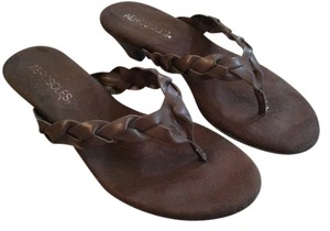 Aerosoles Brown suede and leather Sandals