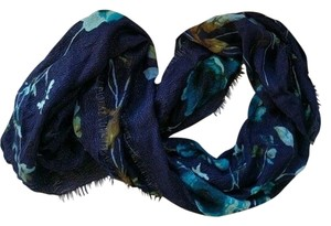 Collection Eighteen COLLECTION EIGHTEEN Blue Floral Infinity Scarf