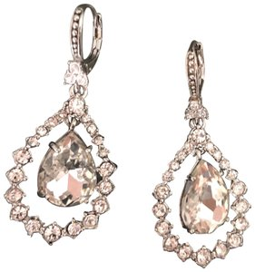 Marchesa Crystal Teardrop Earrings