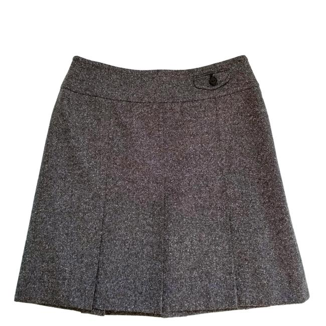 Item - Brown Pleated Skirt Size 4 (S, 27)