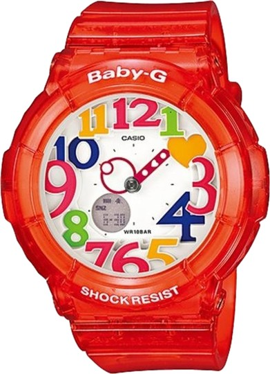 Baby-G Baby G Female Sport Watch BGA-131-4BCR Red Analog