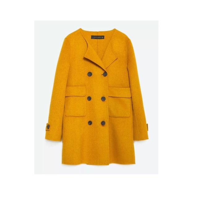Item - Yellow Wool Coat Size 4 (S)