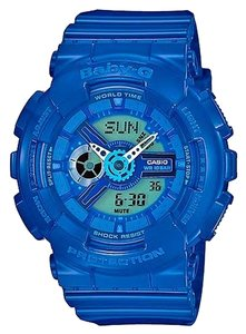 Baby-G Baby G Unisex Sports Watch BA110BC-2A Blue Ana-Digital