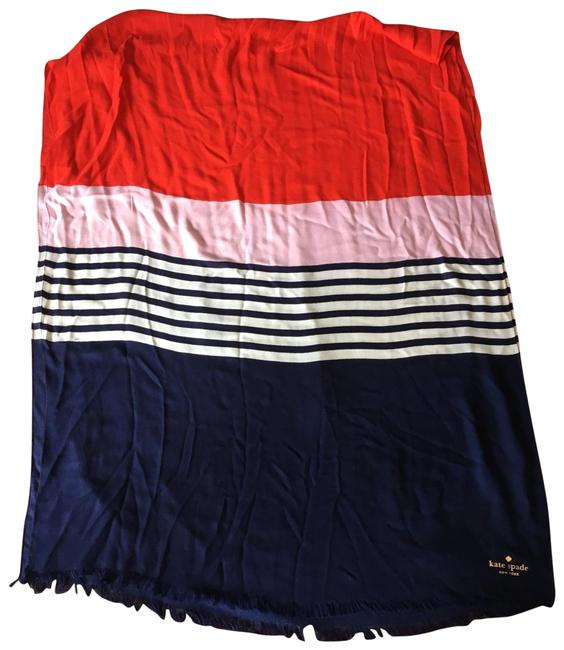 Item - Red White Blue and Pale Pink Scarf/Wrap