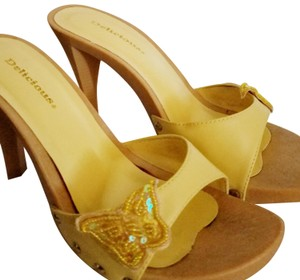 Delicious Easter Yellow Sandals