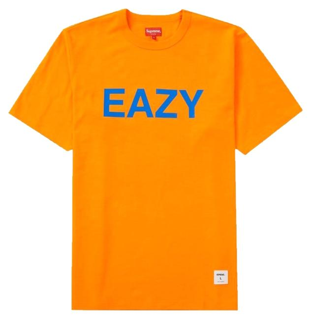 Item - Orange Eazy Tee Shirt Size 12 (L)