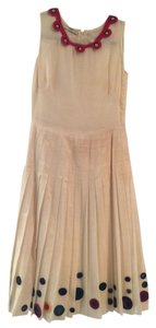 Prada short dress off white linen on Tradesy