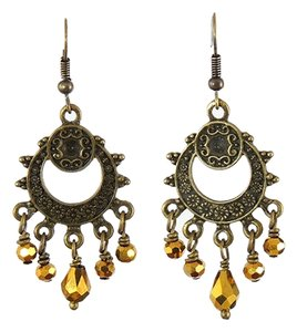 Handmade New Handmade Brass Chandelier earrings