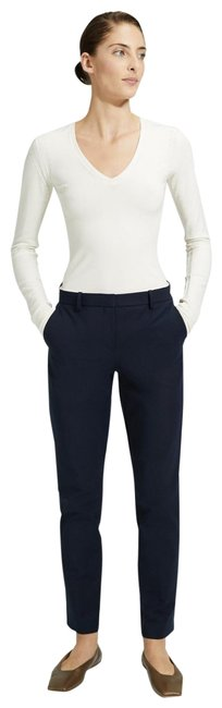 Item - Deep Royal Blue Theory Double Stretch Cotton Tailored Pants Size 4 (S, 27)