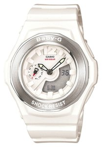Baby-G Baby G Female Casual Watch BGA140-7B White Ani Digi
