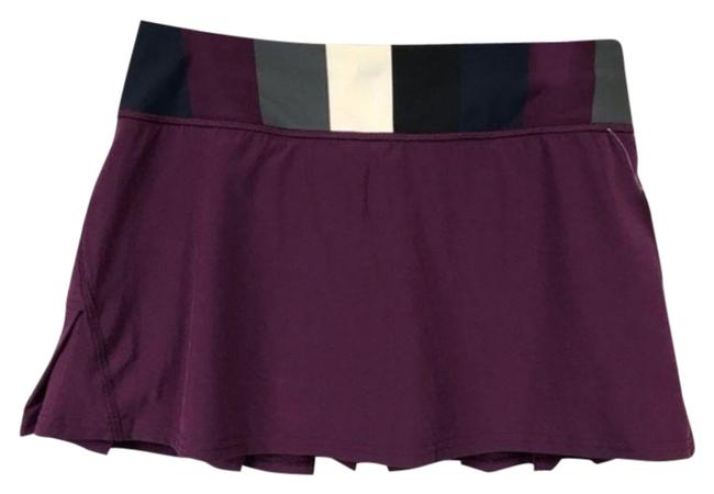 Item - Purple & Black Pace Setter Skirt Size 6 (S, 28)