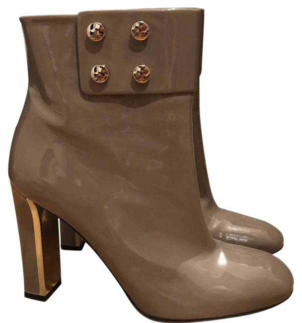 Item - Beige With Studs Stunning Hard To Find Europe Only Boots/Booties Size EU 40.5 (Approx. US 10.5) Regular (M, B)