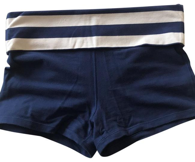 Item - Blue/White Sexy Sport Activewear Bottoms Size 6 (S)