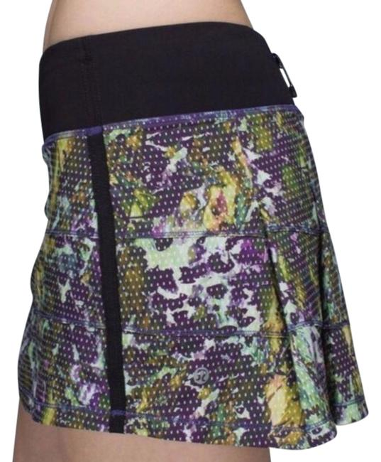 Item - Green & Purple Pace Rival Skirt Size 10 (M, 31)