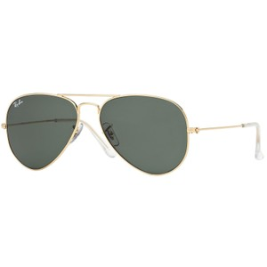 Ray-Ban RAY BAN RB3025 W3234 GOLD/GREY AUTHENTIC SUNGLASSES