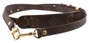 Louis Vuitton Louis Vuitton Bandouliere Monogram Coated Canvas Bag Strap (40198)
