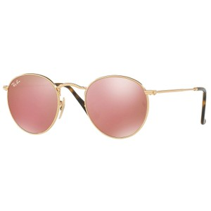 Ray-Ban RAY BAN RB3447N 001/Z2 GOLD/PINK AUTHENTIC SUNGLASSES