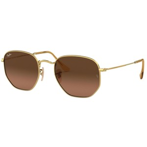 Ray-Ban RAY BAN RB3548N 912443 GOLD/BROWN AUTHENTIC SUNGLASSES