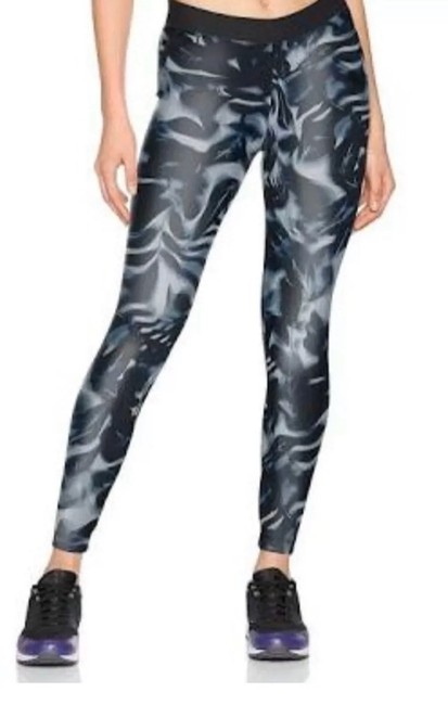 Item - Black/Blue/White Florida Print Leggings Size 8 (M, 29, 30)