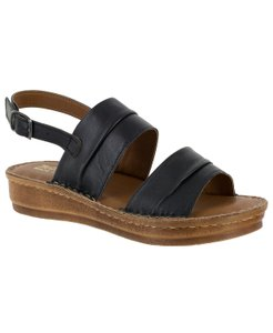 Bella Vita Black Sandals