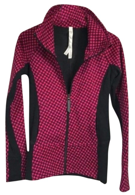 Item - Pink & Black Radiant Jacket Size 4 (S)