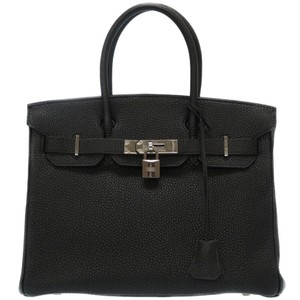 Hermes Satchel in Black