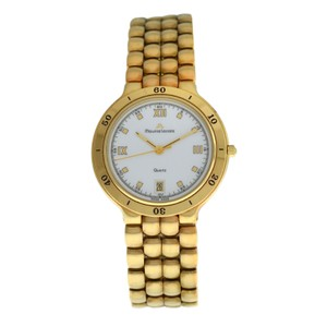 Maurice Lacroix Maurice Lacroix 95995 Electroplated Steel Quartz 35MM Date