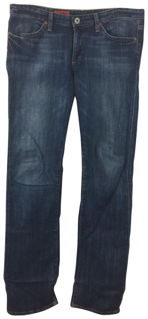 Item - Blue Medium Wash Endear Midrise Boot Cut Jeans Size 8 (M, 29, 30)