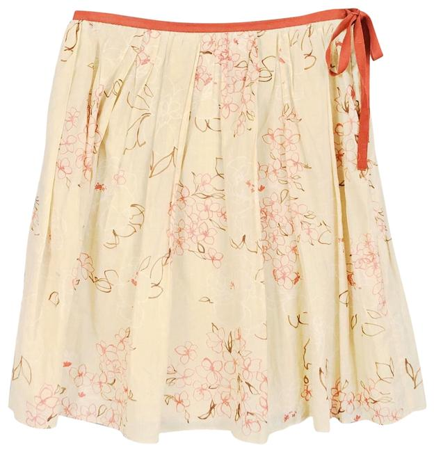 Item - Ivory and Mauve Skirt Size 4 (S, 27)