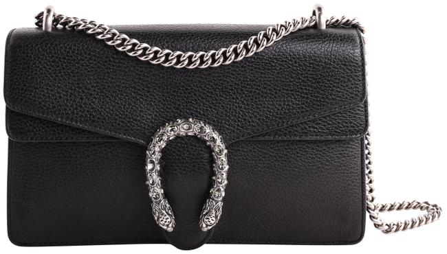 Item - Dionysus Small Black Leather Shoulder Bag