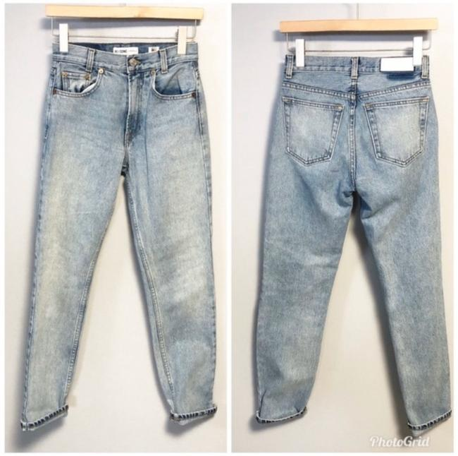 Item - Blue Light Wash Academy Fit Straight Leg Jeans Size 00 (XXS, 24)