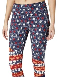 Reebok Reebok Right Fit Capri Workout Leggings American B