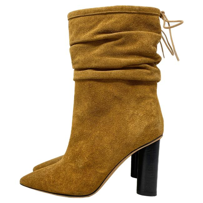 Item - Tan Socky Suede Ankle Boots/Booties Size US 5.5 Regular (M, B)