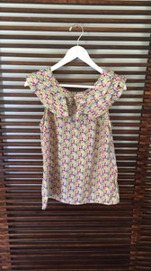 Liberty of London for Target Top Pink and cream