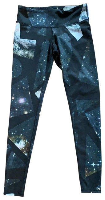 Item - Black Galaxy Leggings Activewear Bottoms Size 2 (XS)