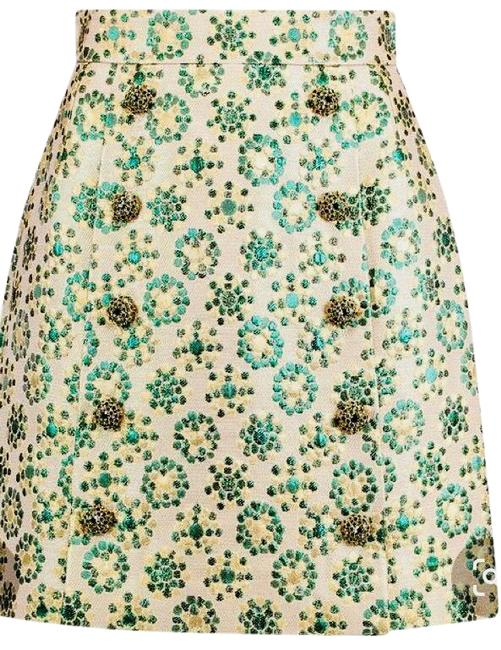 Item - Green / Gold Skirt Size 8 (M, 29, 30)