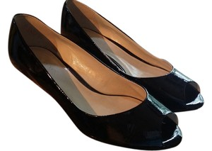 Talbots Black Wedges