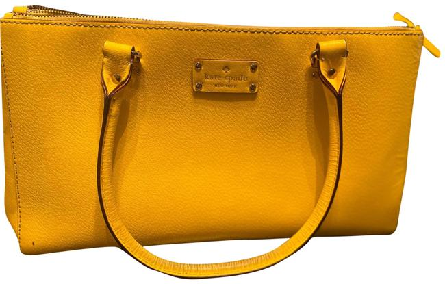 Item - Handbag Canary Yellow Leather Baguette