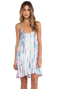 Somedays Lovin short dress Multi Tie Dye Swing Mini Strappy on Tradesy