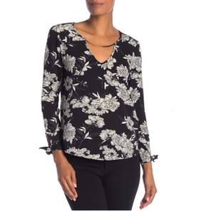 Harvé Benard Top Black/white