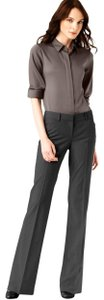 Theory Flare Pants charcoal gray
