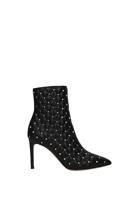 Valentino Garavani Black Ankle Women Boots/Booties Size EU 39.5 (Approx. US 9.5) Regular (M, B) Valentino Garavani Black Ankle Women Boots/Booties Size EU 39.5 (Approx. US 9.5) Regular (M, B) Image 1