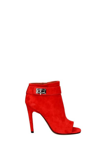 Item - Red Ankle Women Boots/Booties Size EU 36.5 (Approx. US 6.5) Regular (M, B)