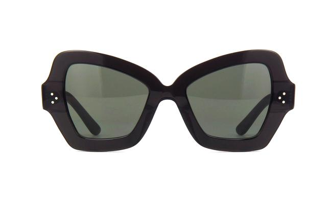 Céline 20n Black Cl40067i Oversized Thick Acetate Cat Eye Sunglasses Céline 20n Black Cl40067i Oversized Thick Acetate Cat Eye Sunglasses Image 1