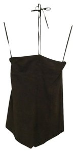 Theory Brown Halter Top - item med img