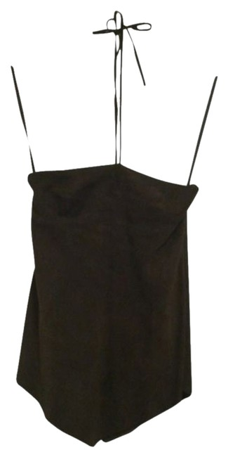 Theory Brown Halter Top