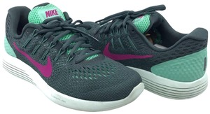 Nike Gray Green Pink Athletic